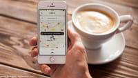 Uber coloca localização de amigo como destino