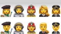 Apple terá novos emojis de profissões