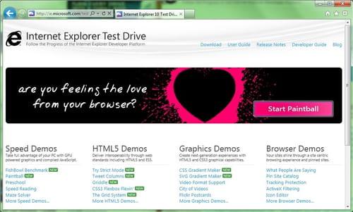 Baixar a última versão do Internet Explorer 10 Platform