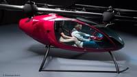 Drone-táxi é testado em primeiro voo público
