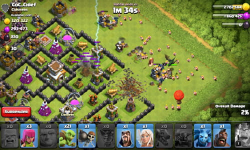 play clash of clans on pc no download