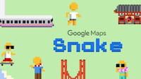 Google Maps lança jogo da cobrinha no 1º de abril