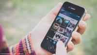 Instagram salva fotos em pastas