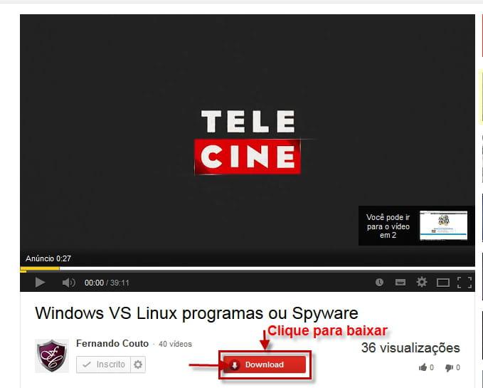 1 click youtube video downloader plugin firefox instalaao e clique no boto vermelho abaixo do vdeo abre se o menu contextual com a lista dos formatos ccuart Images