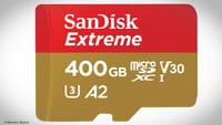 SanDisk lança cartão de 400 GB