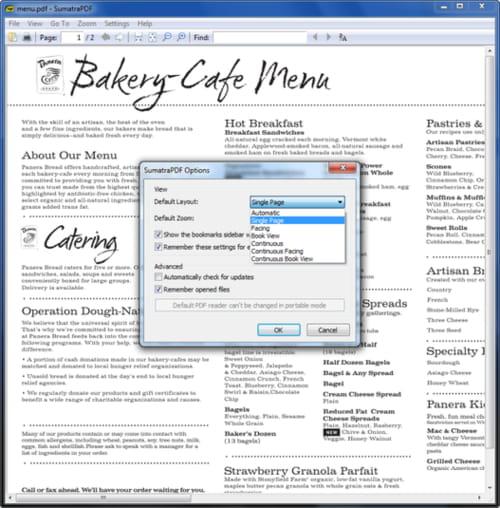 Baixar a última versão do Sumatra PDF Portable grátis em