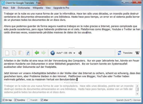 Baixar a ltima verso do google translate client grtis em google translate client tambm capaz de detectar a qual idioma pertence uma determinada palavra stopboris Choice Image