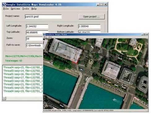 Baixar a última versão do Google Satellite Maps Downloader grátis em