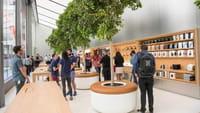 Apple Store muda de visual