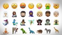 iPhones e iPads recebem novos emojis