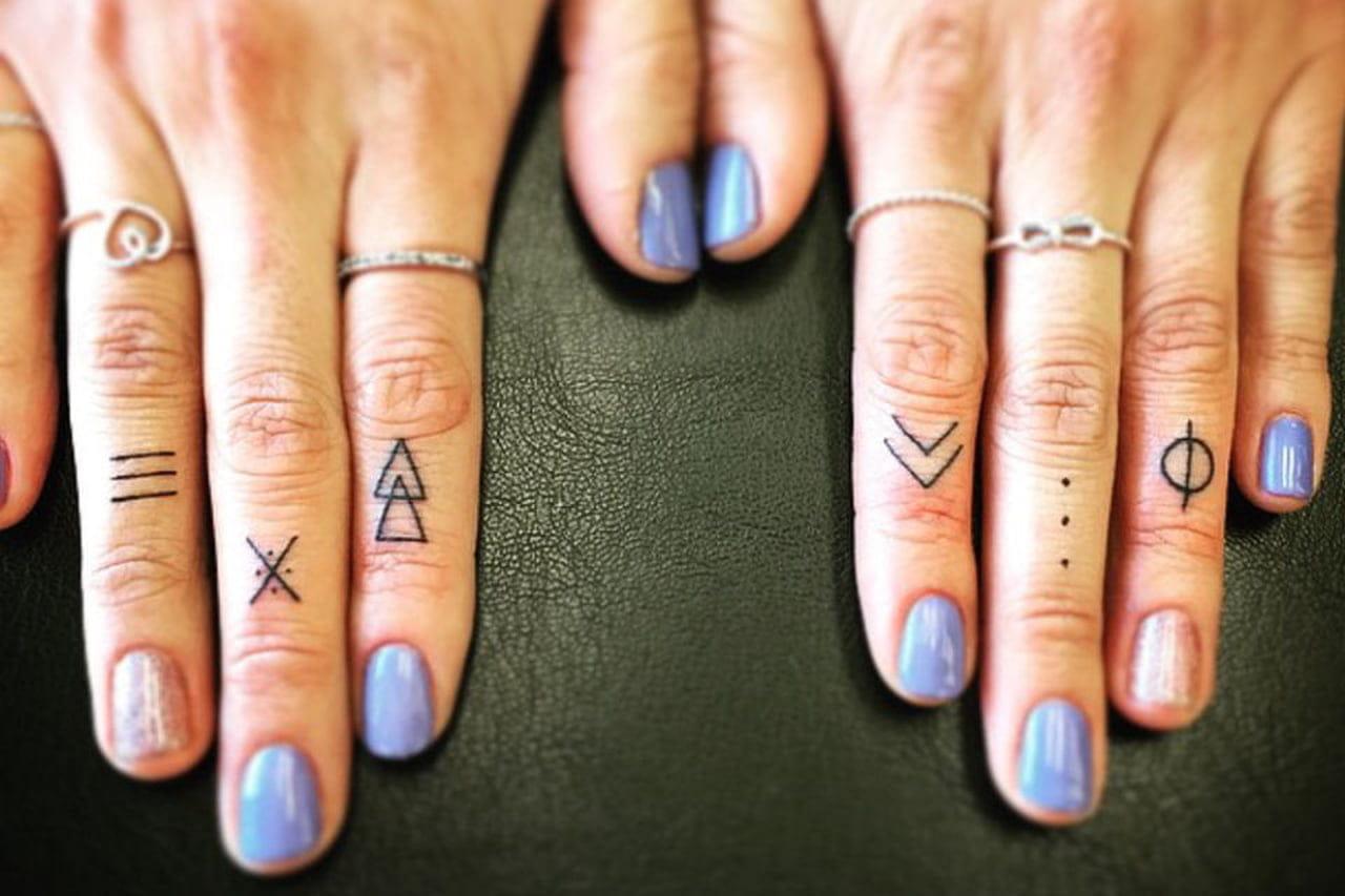De Fofa A Minimalista Ideias De Tatuagem Para O Dedo