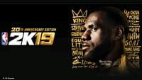 LeBron James é capa nos 20 anos do NBA 2K19