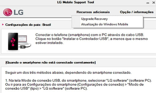 LG Mobile Support Tool Dwonload