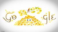 Doodle do Google celebra Outono