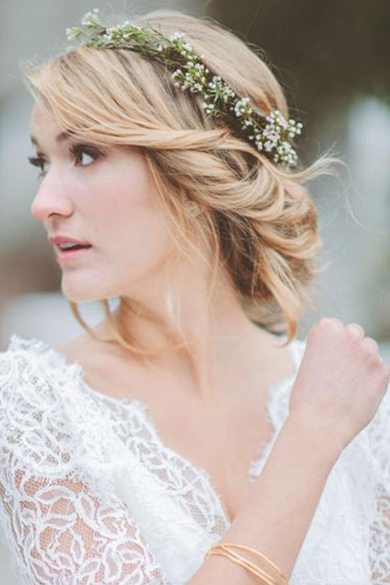 Tiara De Flores Confira 15 Modelos Para Noivas