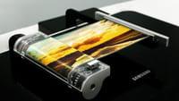 Samsung cria tela flexível retrátil