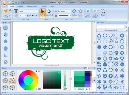 Baixar a última versão do Sothink Logo Maker Professional ...