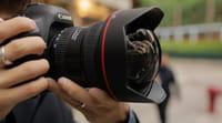 Nova lente potente da Canon