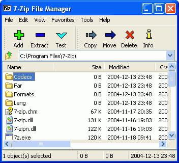 Baixar a última versão do 7-Zip 64 bit grátis em Português no CCM