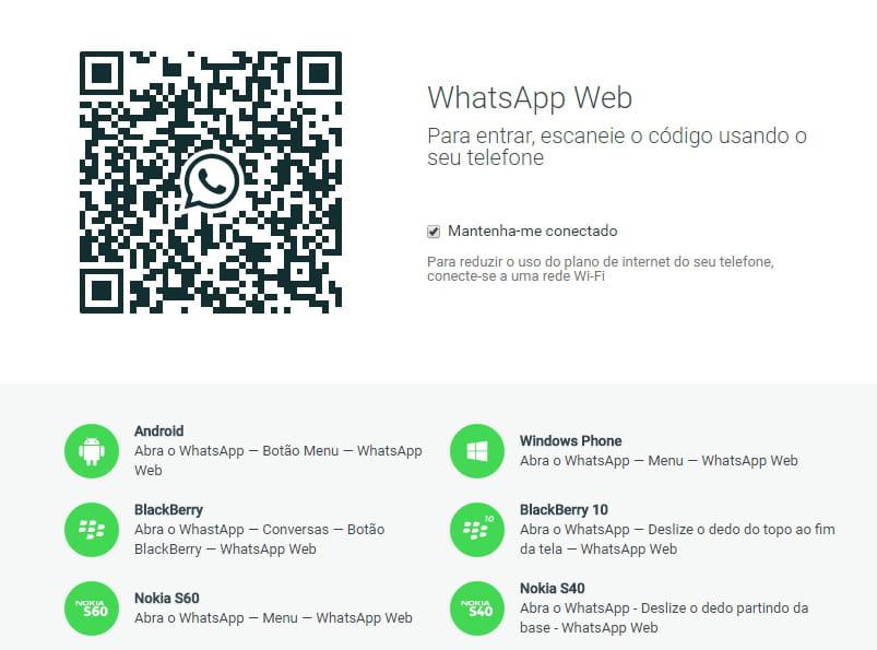 Como usar o whatsapp no pc whatsapp web stopboris Images