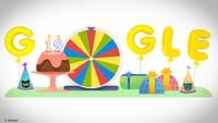 Google libera jogos em doodle de aniversário