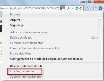 0b8a722b5 IE11 - Configurar a pasta do cache dos arquivos temporários da Internet