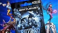 Cartões pré-pagos da Battle no Brasil