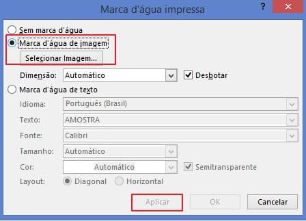 Clique em Selecionar imagem para encontrar a imagem que você deseja  inserir. Para terminar, clique em Aplicar e OK. Foto  © Pixabay. 47185cf6c5