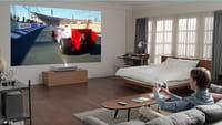 LG lança projetor 4K para substituir TV