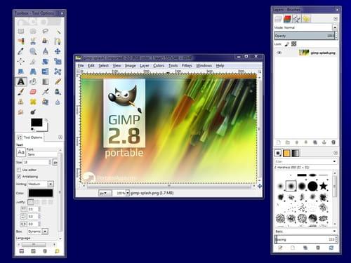 Baixar a última versão do GIMP Portable grátis em Português