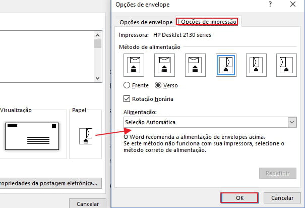 Como Criar E Imprimir Envelopes No Word 2013 Ccm