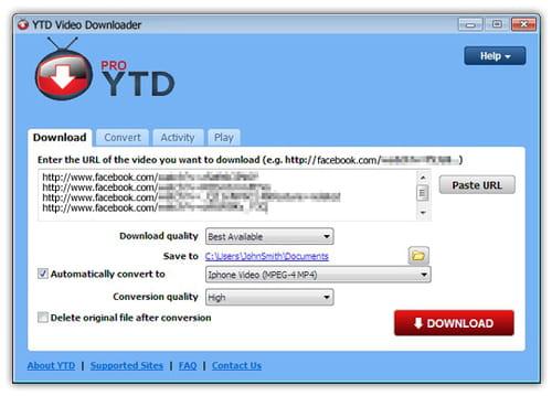 Baixar a ltima verso do ytd video downloader grtis em portugus com ele tambm possvel assistir aos vdeos em dispositivos com sistema android e ios alm de possuir um reprodutor de vdeo integrado para assistir ccuart Gallery