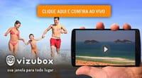 App mostra praias ao vivo