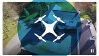 Periscope faz transmissão direto de drone