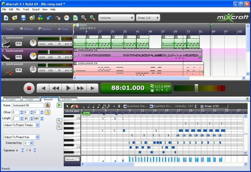 Mixcraft 2.51 download free