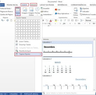 Simbolo Calendario Word.Como Adicionar Um Calendario No Word