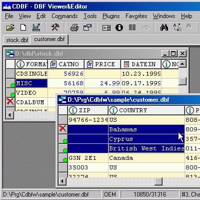 Baixar a última versão do CDBF - DBF Viewer and Editor grátis em