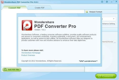 wondershare pdf to word 4.1.0 registration code