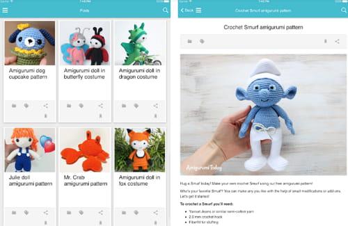 Crochet Amigurumi Smurf Toy Free Patterns Tutorials | 325x500