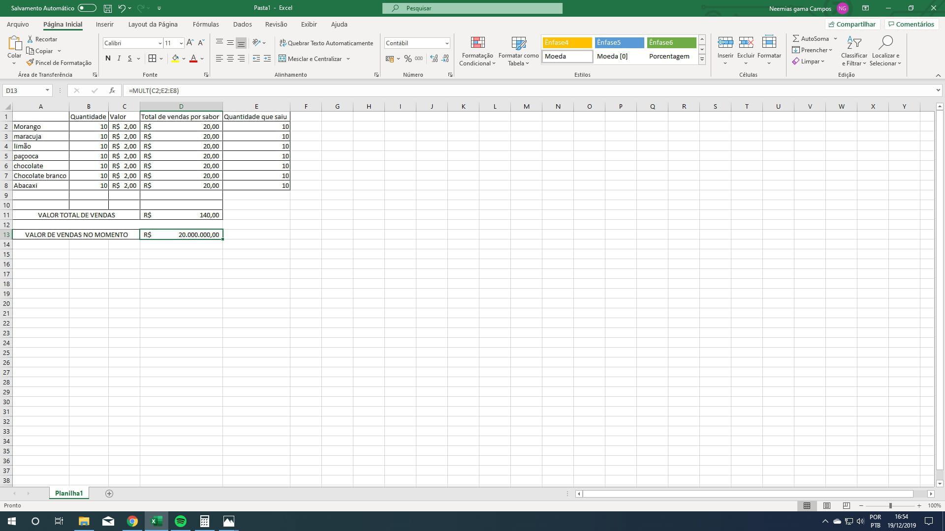 Como abrir duas Formulas na mesma célula no Excel   Fórum ...