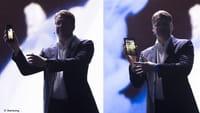Samsung dobrável custará mais de R$ 7 mil