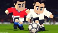 Game de futebol usa blocos do Minecraft