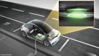 Carregador wireless para carro elétrico